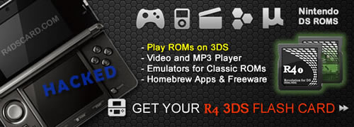 R4 3DS ROM hack