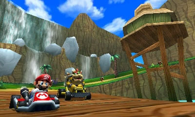 Mario Kart 7 Rom Screenshot
