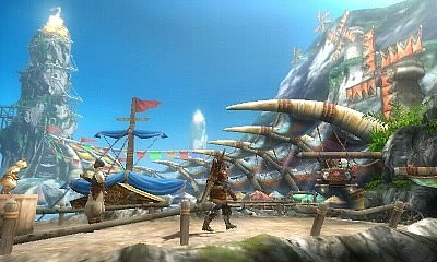 Monster Hunter 3G Rom Screenshot
