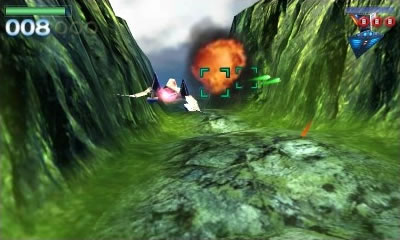Star Fox 64 3D Rom Screenshot