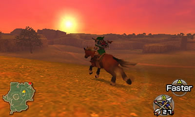 The Legend of Zelda: Ocarina of Time 3D Rom Screenshot